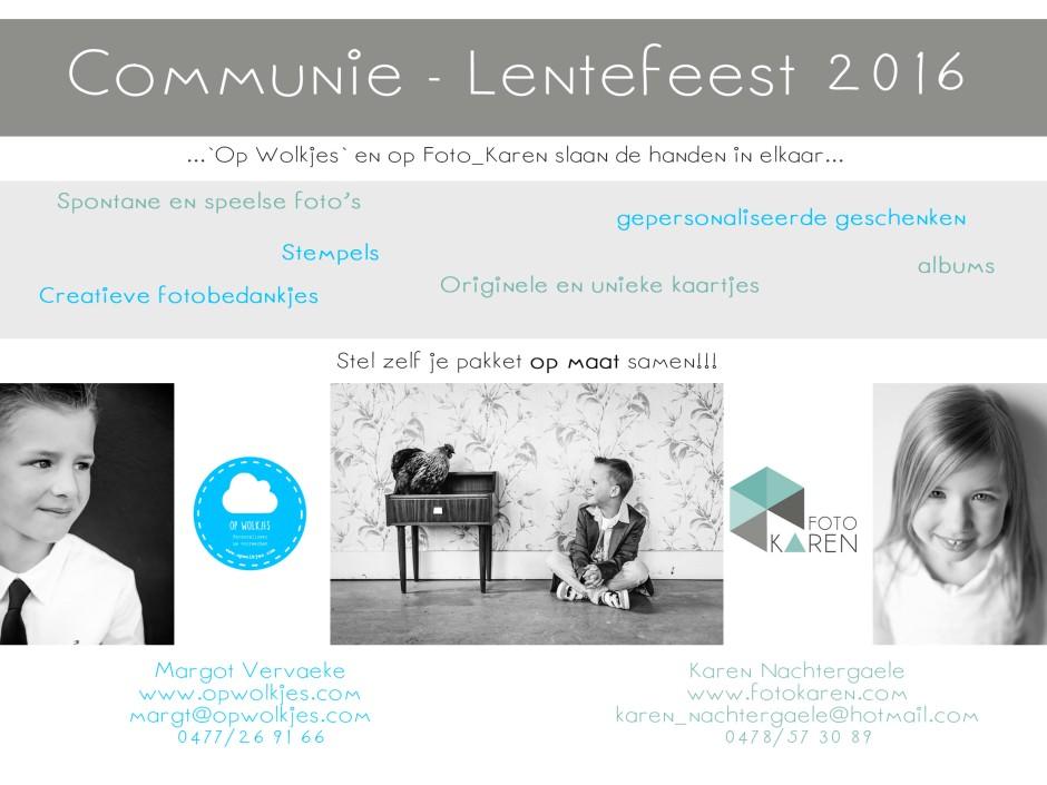 communie - lentefeest 2016